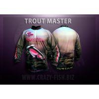 реглан CRAZY FISH Trout Мaster 2XL