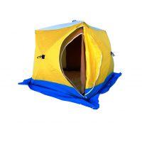 Палатка зимняя Стэк Куб 3 Двухслойная
